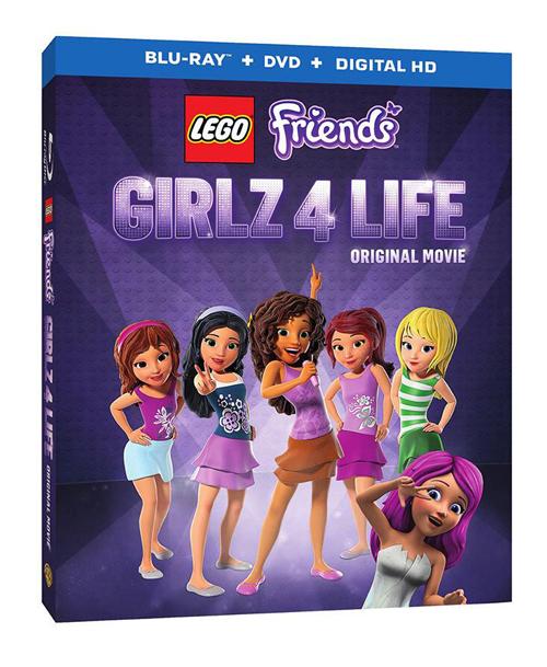 Lego Friends Girlz 4 Life Blu Ray And Lego Set Giveaway