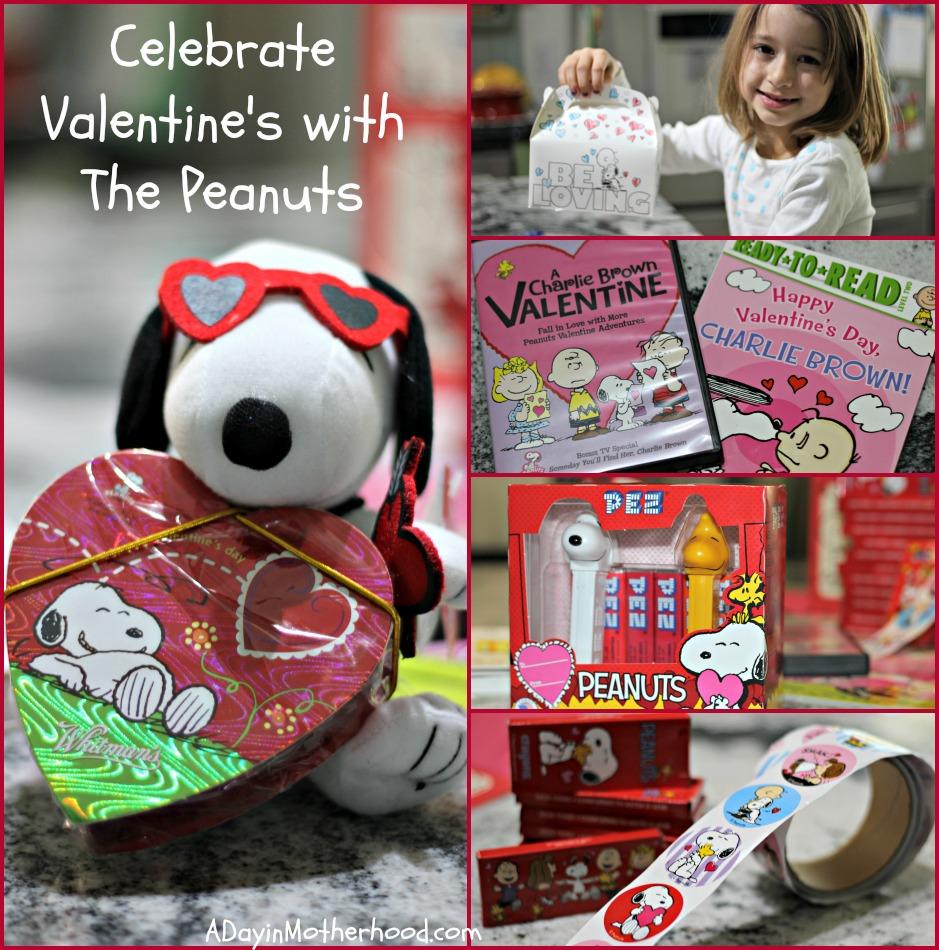 WIN a Peanuts Valentine's Prize Pack #peanutsambassador