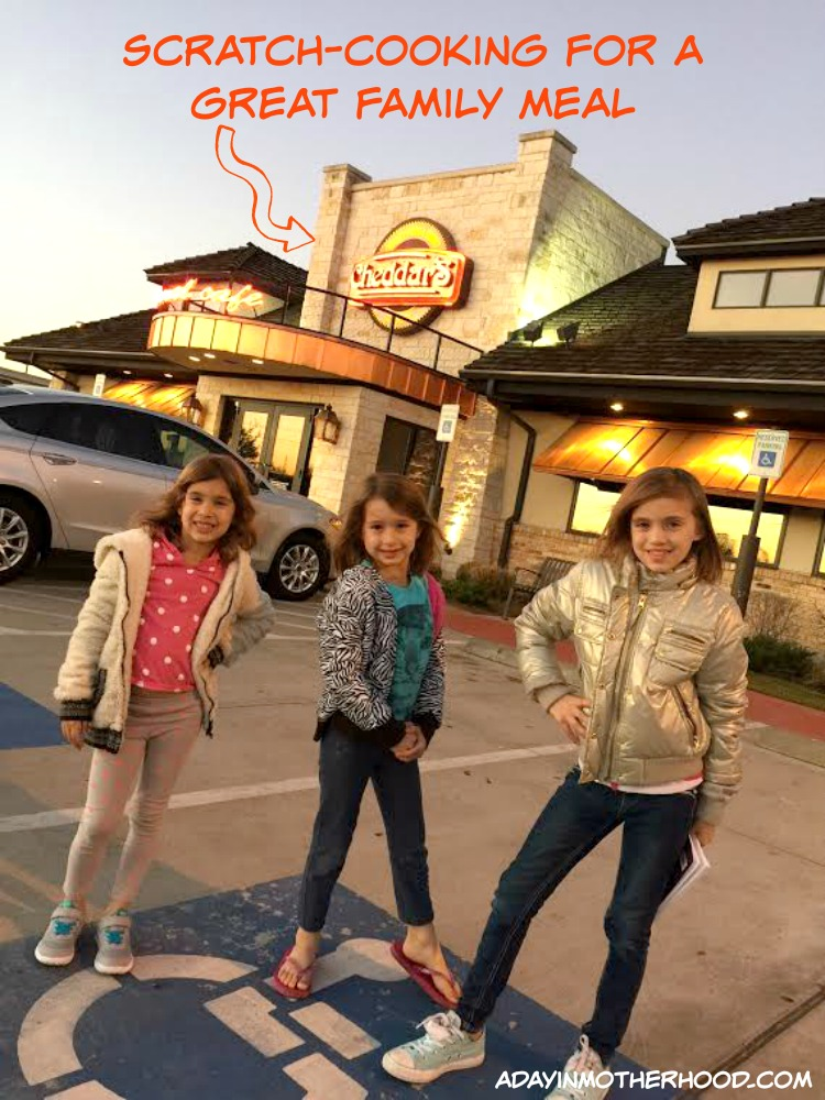 Fresh Family Food in a Great Atmosphere is at Cheddar's Scratch Kitchen + 4 WIN $25 Gift Cards #CSKFreshTake ad