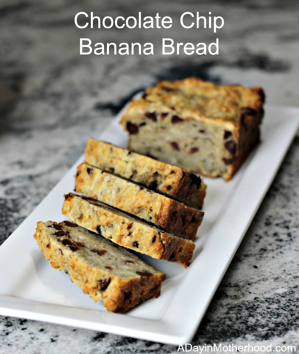 Chocolate Chip Banana Bread + A NEW Costco is Coming to Humble, TX