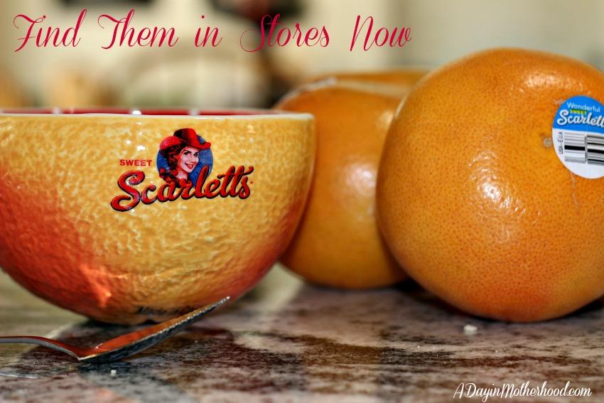 Tropical Grapefruit Salad Recipe + WIN a Sweet Scarletts Grapefruit Basket