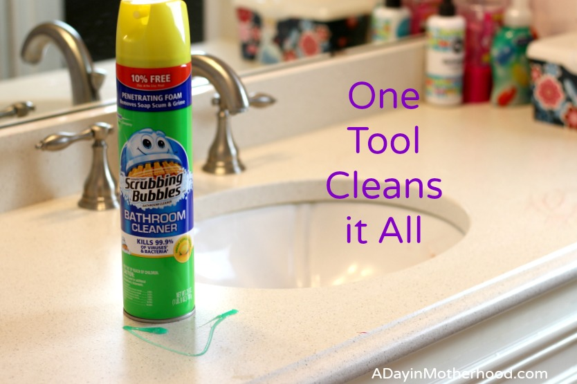Keep Your Kid's Bathroom Livable in 3 Easy Steps #SCJMessyMoments ad @Walmart
