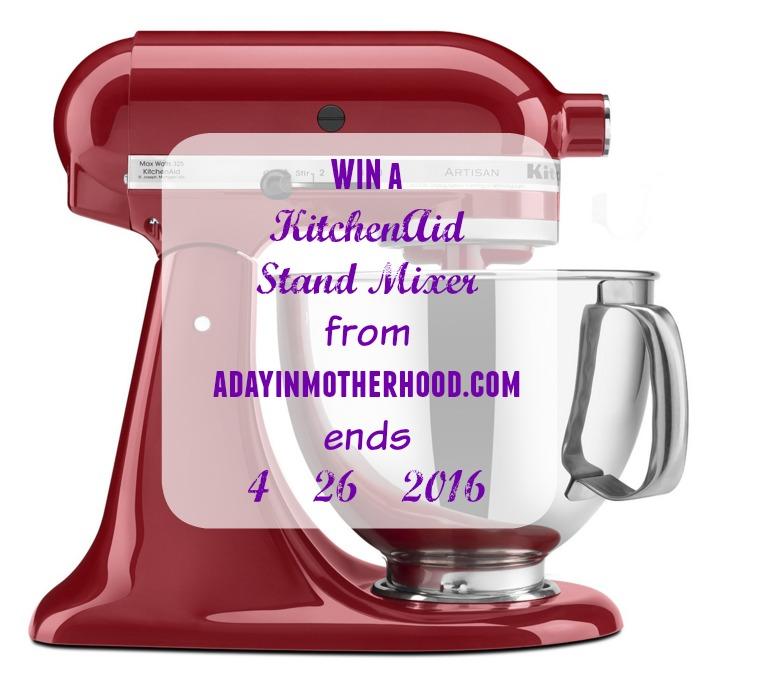 WIN a KitchenAid Stand Mixer #GratefulGiveaway