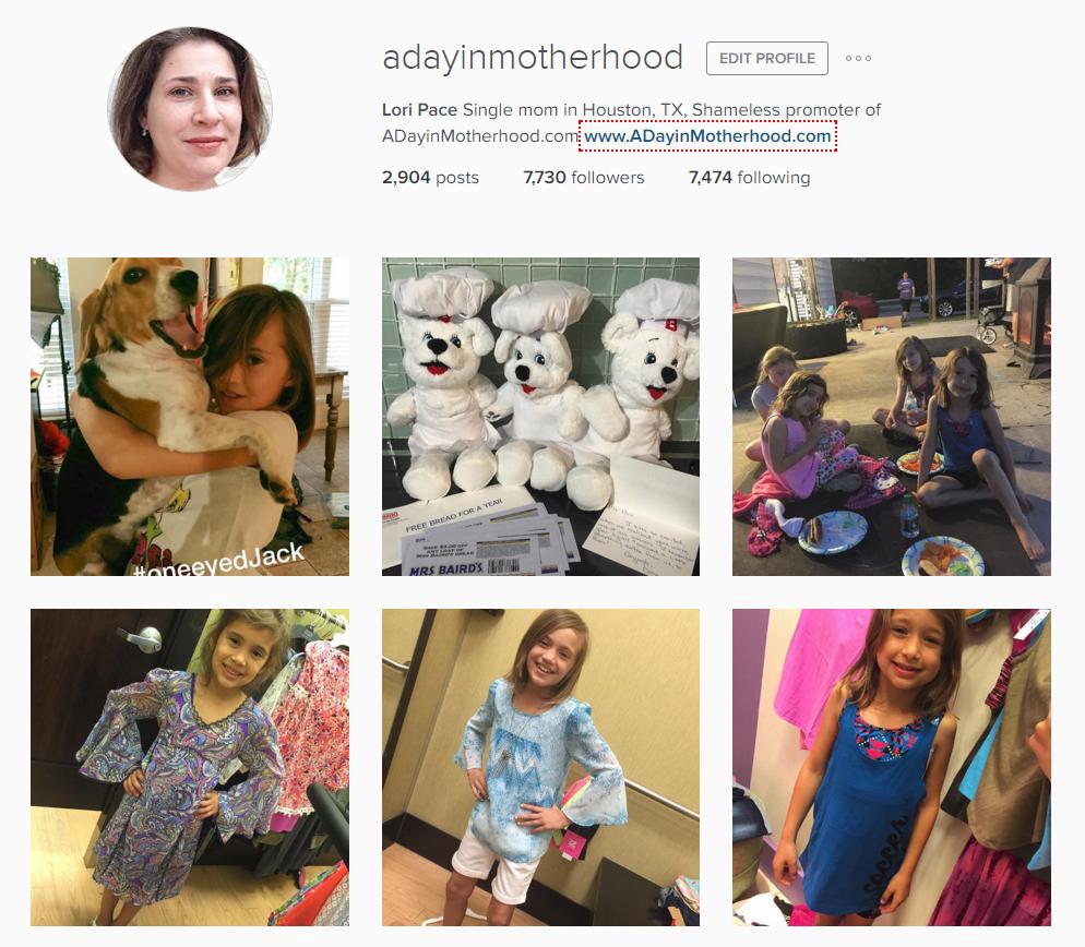 ADayinMotherhood Instagram