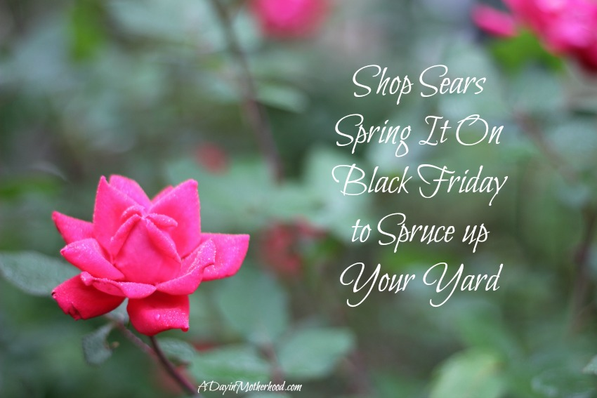 Spring It ON Black Friday Sale at Sears is 4/17/16 + WIN a $50 Gift Card NOW #SpringItOn ad @Sears