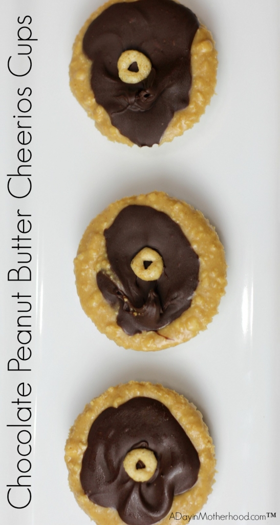 There is never too much memory making with this fun Chocolate Peanut Butter Cheerios Cups nearby! After school snacking just went up a level!