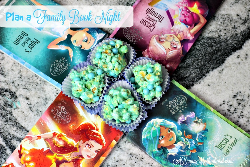 Dreamy Marshmallow Popcorn Balls are the Perfect Star Darlings Family Book Night Treat + WIN a $205 Star Darlings Gift Pack #StarDarlings ad