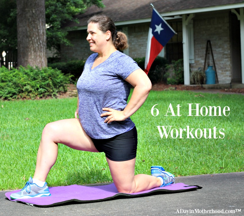 Can't make it to the gym? Try these 6 At Home Workouts to stay on track! #easbrand #PowerinProtein #collectivebias @Walmart