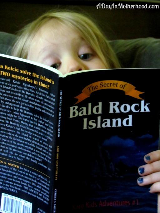 The Secret of Bald Rock Island #KareKidsAdventures ad