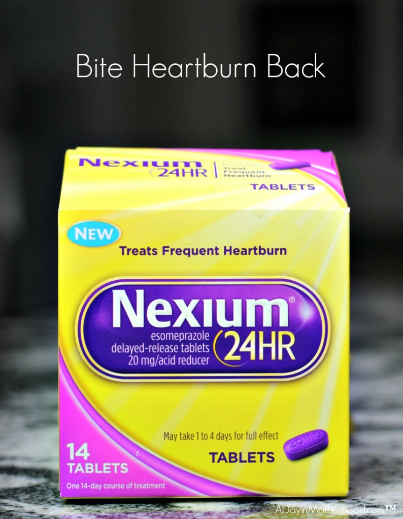 Nexium 24HR is available in caplets and new tablet! Pick them up at Walmart while shopping for recipe ingredients! #RaceDayRelief ad