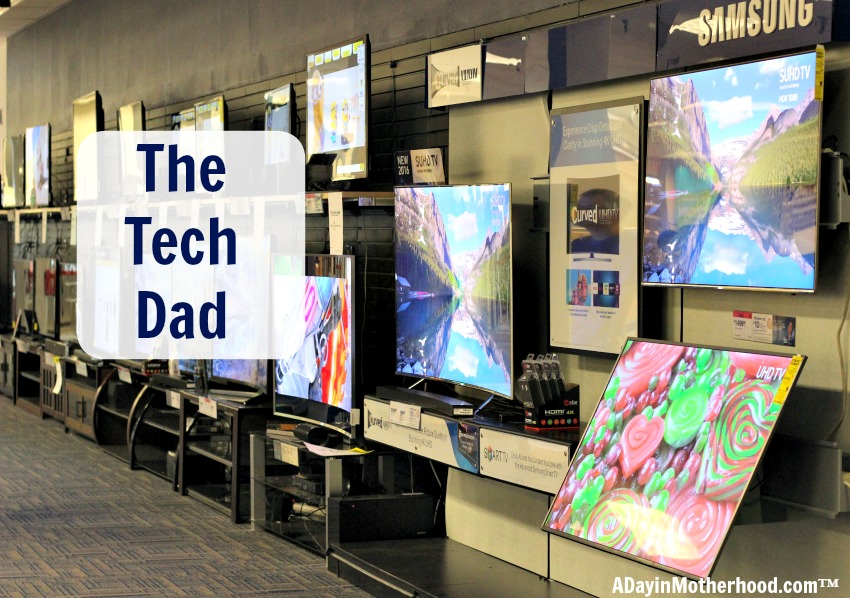 The Tech dad is easier to shop for at Sears. From home security to the latest tablets, you can impress him with the latest tech item!
