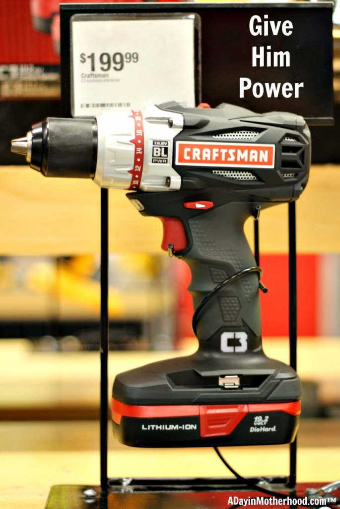 Power tools are always a hit with the Handy Dad! Craftsman from Sears is the most reliable brand around!