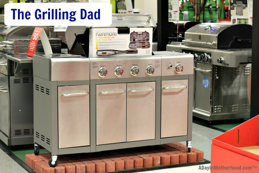 Hi dream grill from Kenmore is at Sears! Think of all of the amazing cookouts you can have with amazing grills and accessories!