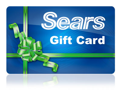 The Sears gift card is always a hit with dad's! Get the gift card that let's him shop for everything in one place!