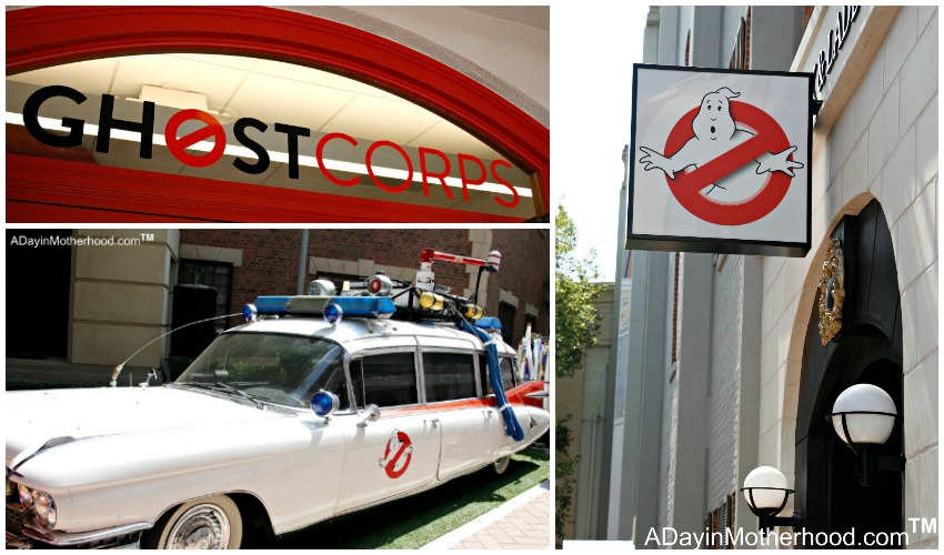 Seeing the Ecto-1 from the original Ghostbusters Movie at Ghost Corps. #Ghostbusters #Ghostbloggers #ad