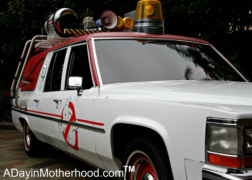 It's the Ghostbusters Car - check it out! #Ghostbusters #Ghostbloggers #ad