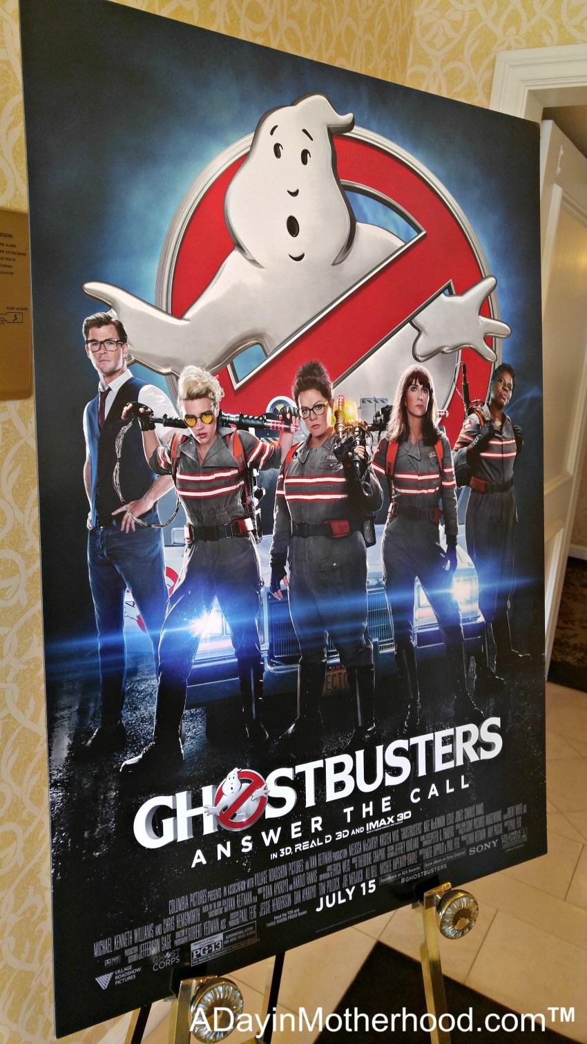 Ghostbuster Movie Press Junket #Ghostbusters #Ghostbloggers #ad