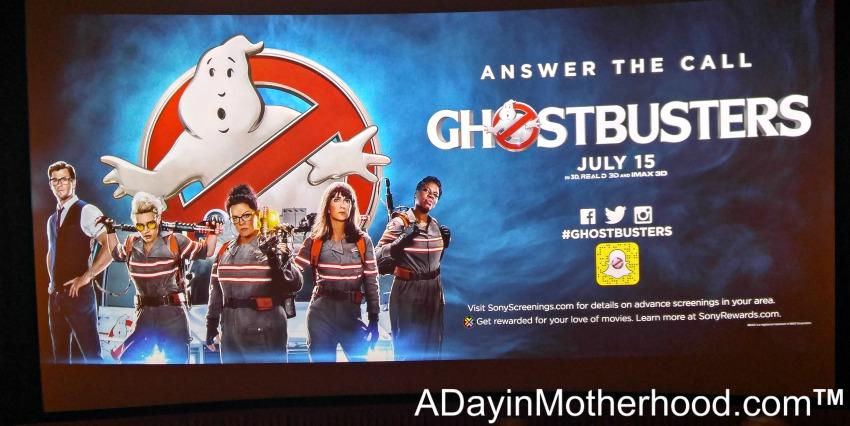 Ghostbusters Movie Screening #Ghostbusters #Ghostbloggers #ad