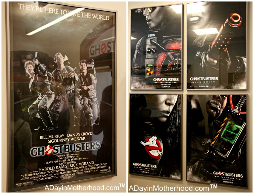 The new Ghostbusters posters are incredible at Ghost Corps! by BusyMomsHelper.com for ADayinMotherhood.com #Ghostbusters #Ghostbloggers #ad