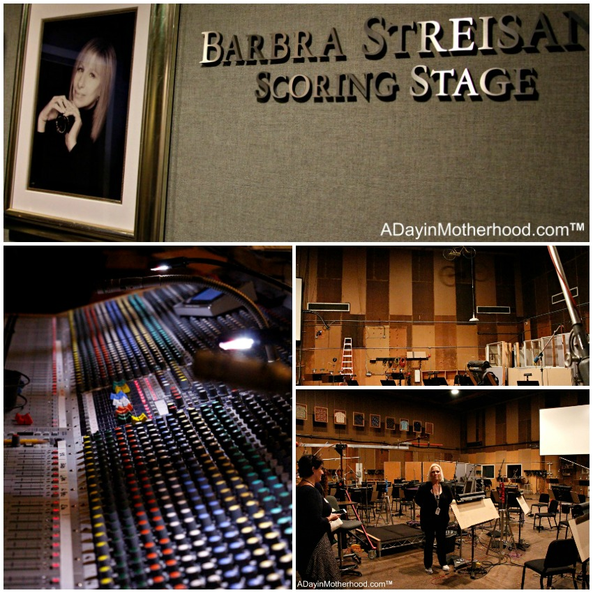 The Barbara Streisand Scoring Stage and Studio on Sony Lot is incredible! #Ghostbusters #Ghostbloggers #ad