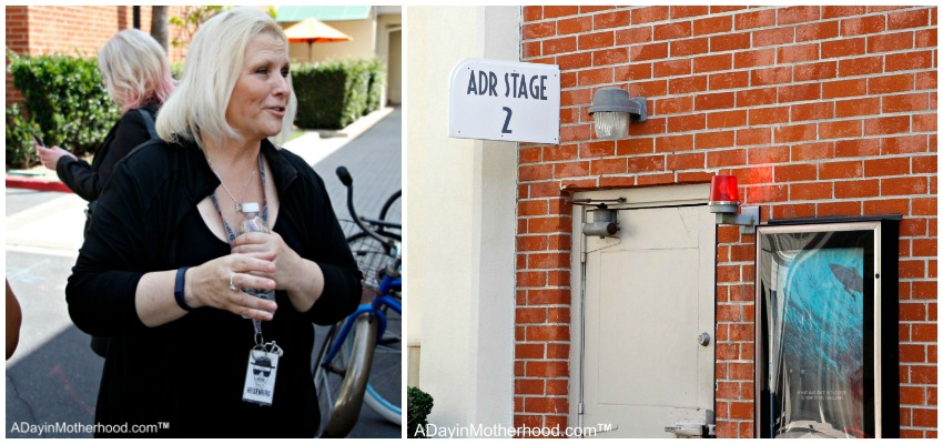 We went on a private tour of Sony Lot #Ghostbusters #Ghostbloggers #ad