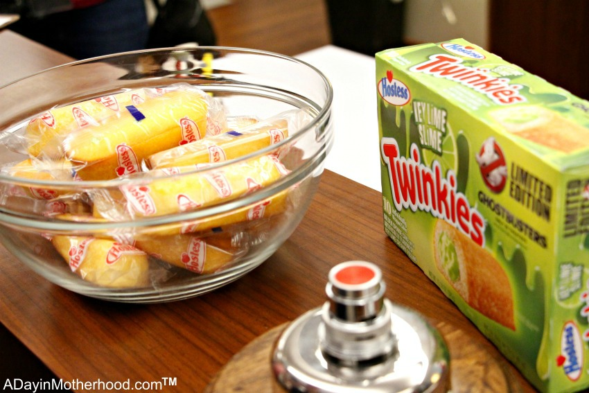 The memorable Ghostbusters Twinkies! #Ghostbusters #Ghostbloggers #ad