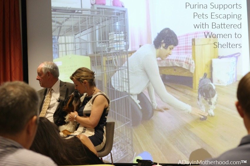 Battered Women can take their pets with them when they escape thanks to a partnership with Purina. #MeetPurina ad