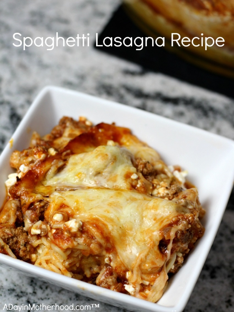 My Spaghetti Lasagna Recipe will have your whole family smiling and wanting more! #ScrubbingPower ad