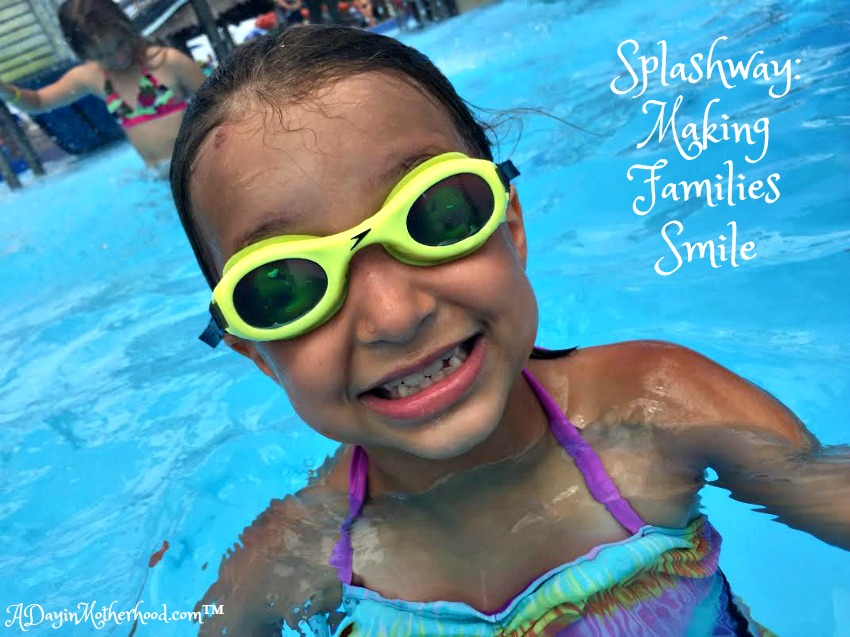 There are smiles for everyone at Splashway Waterpark in Sheridan, TX #Swaywithray #ad