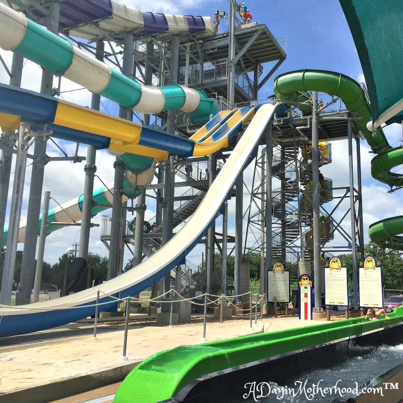 The slides alone are worth the price of admission! There is one for every age! #swaywithray #ad