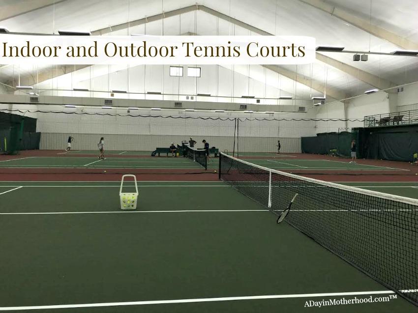 Enjoy tennis on the indoor and outdoor courts of the Woodlands Resort #WoodlandsResort ad