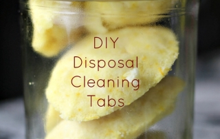 DIY Disposal Cleaning Tabs are easy to make!