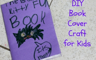 This DIY Book Cover Craft is fun and easy!