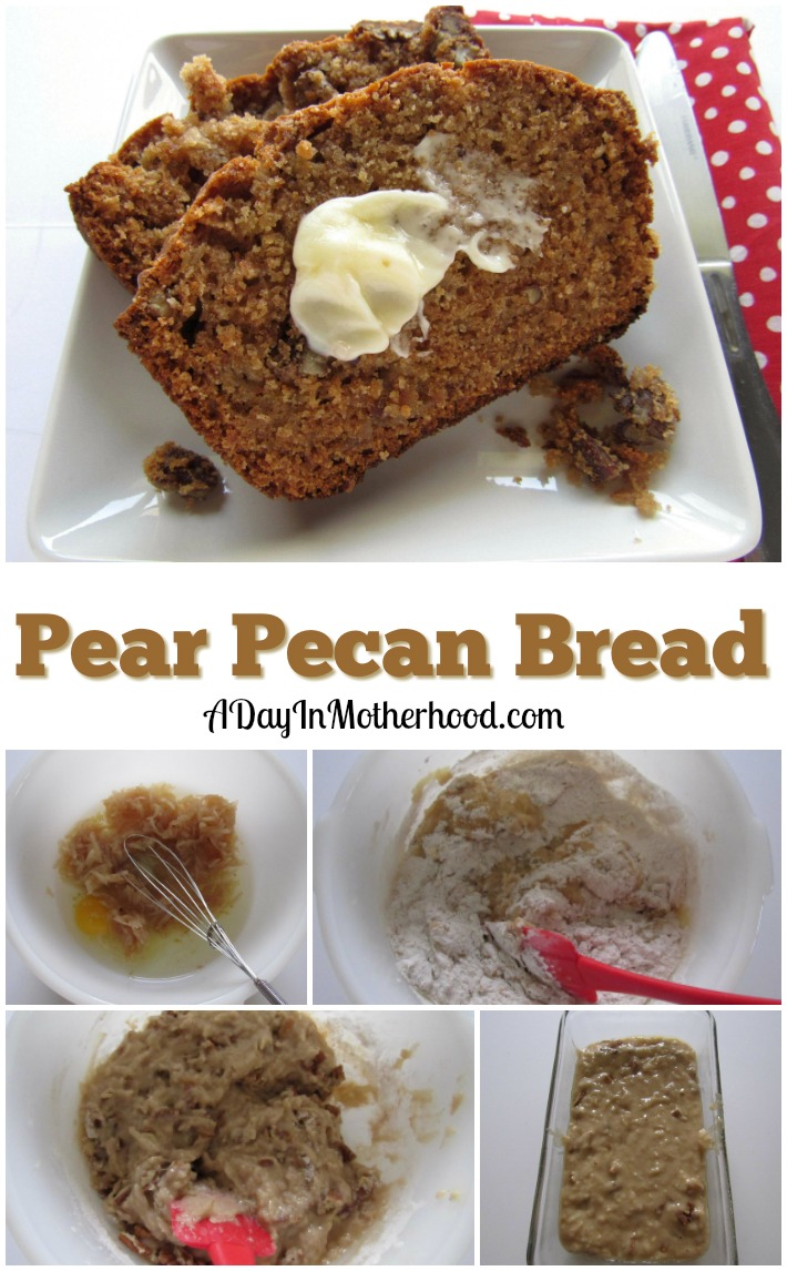 Kick start your fall with Pear Pecan Bread