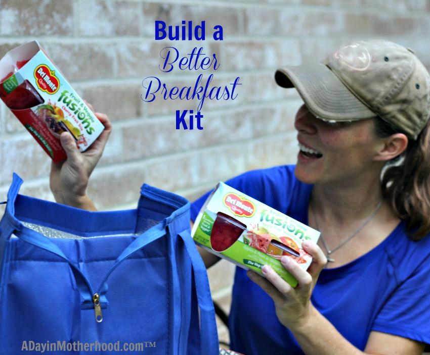 Buiild breakfast Kit with DelMonte Fruit & Veggie Fusions