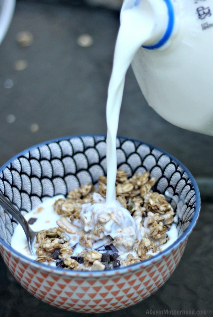 Get milk to help give a better breakfast through Feeding America.
