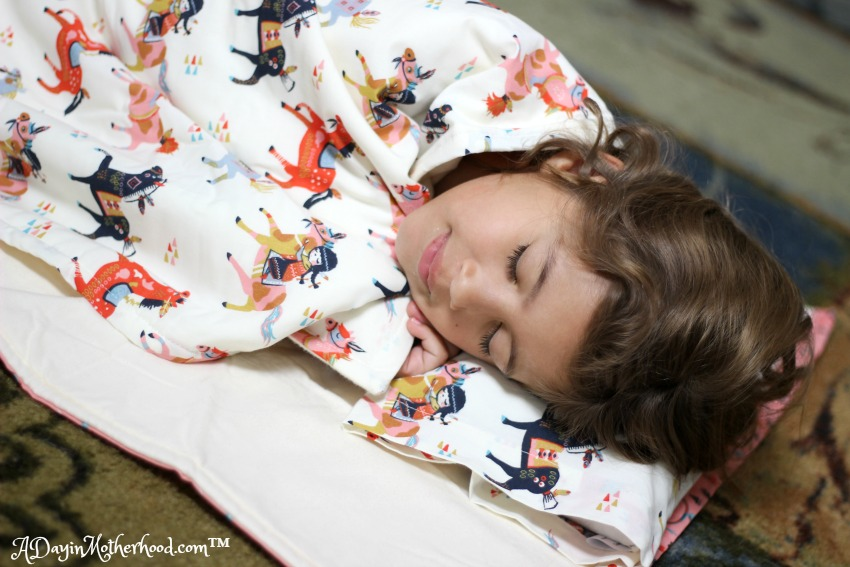 Megan loves her Enchanted Slumber All in One Sleeper. ad