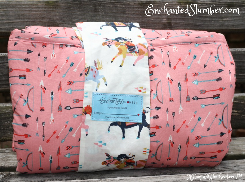 Enchanted Slumber makes 100% organic sleepers for kids! ad