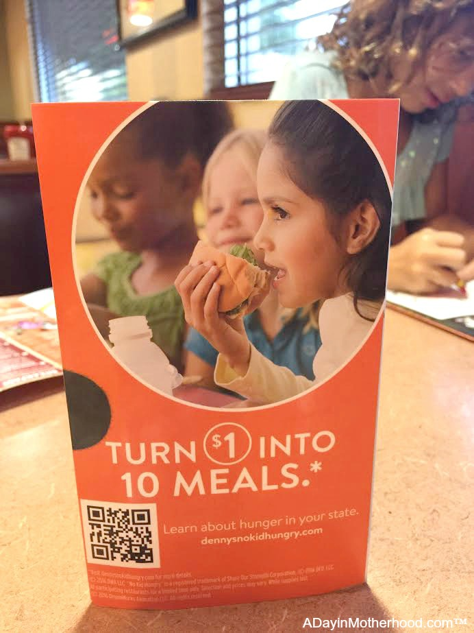A SIMPLE tweet donates plus get free pancakes for kids at Denny's