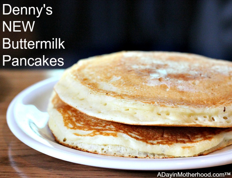 Free pancakes at Denny's include 3 silver dollar cakes!