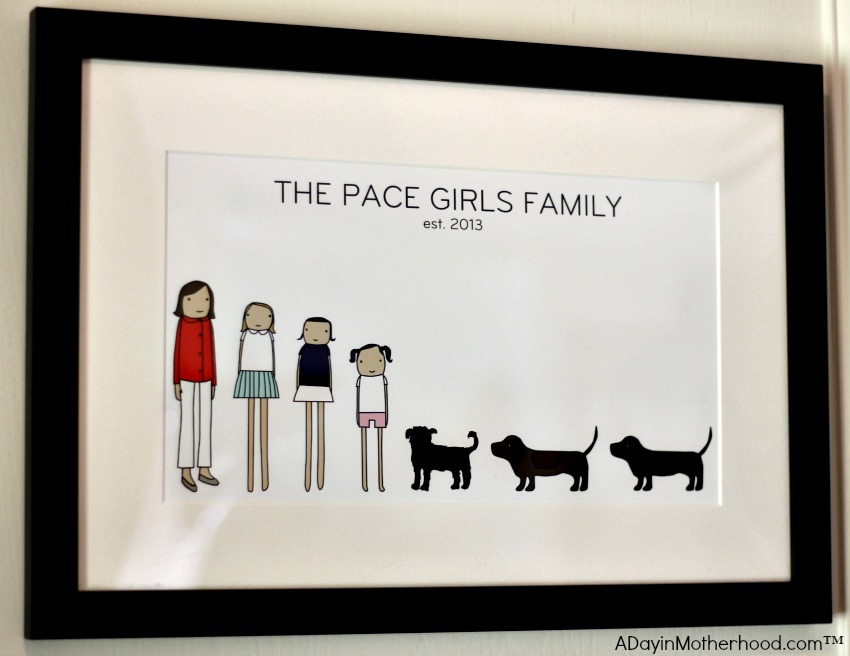 I love my framed print from Uncommon Goods! ad