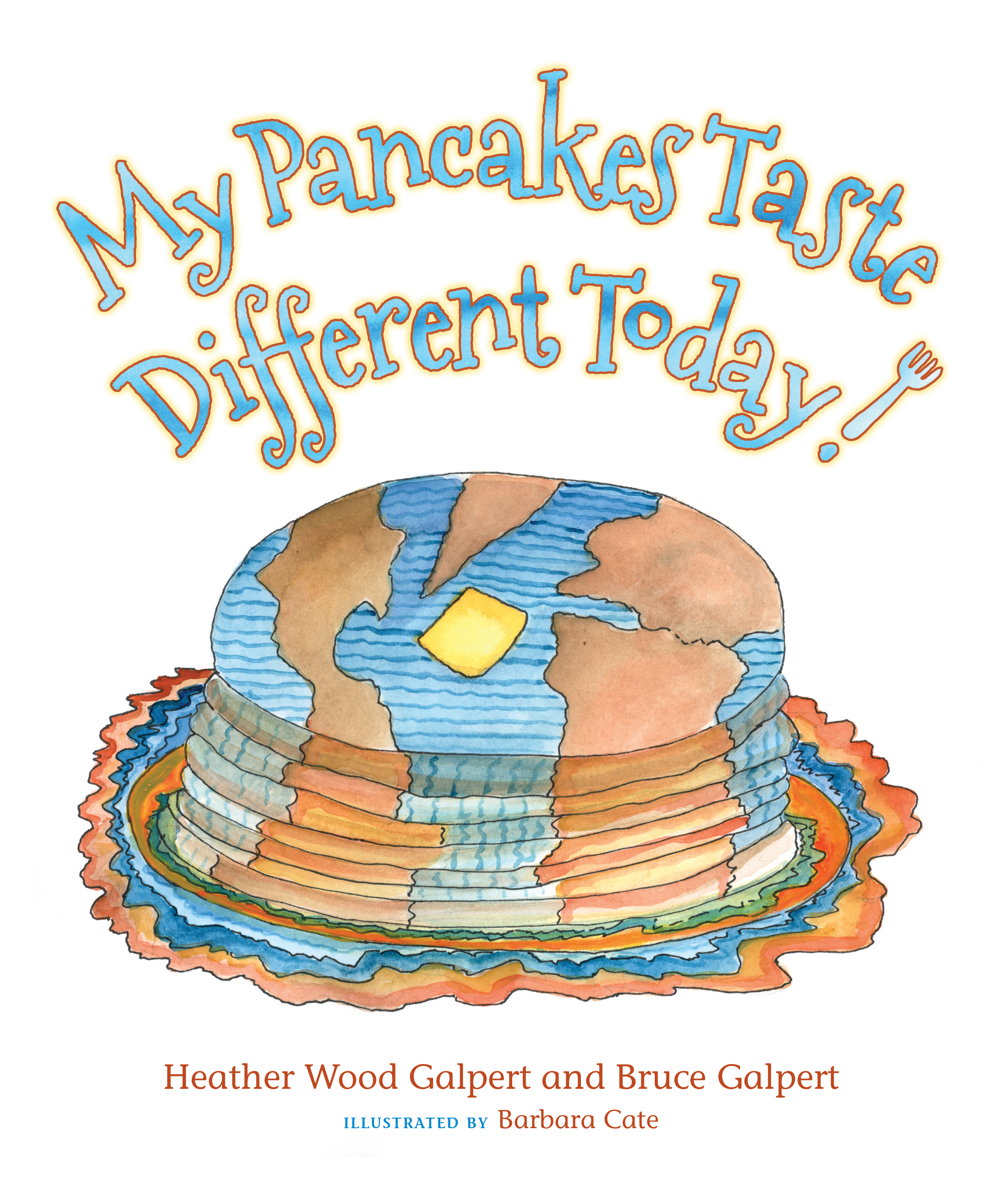 My Pancakes Taste Different Today. ad #ThePancakesBook