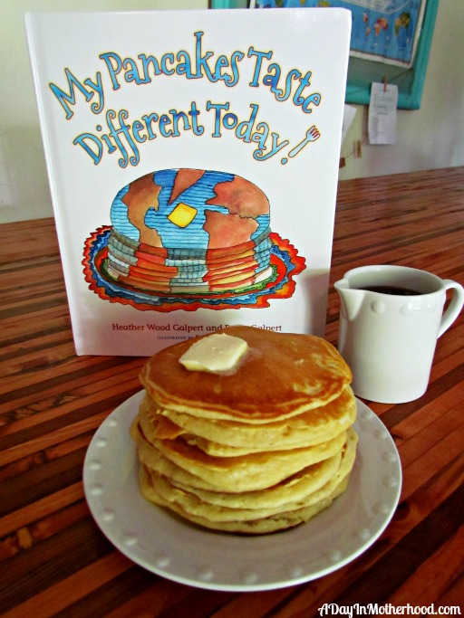 My Pancakes Taste Different Today book review #ad