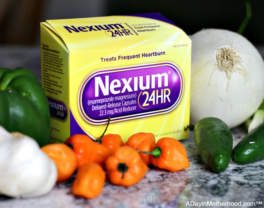 Nexium24 helps with heartburn from Slow Cooker Wazzu Chili