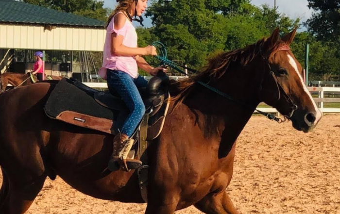 Get Quality Medical Advice 24/7 Online with the Convenient Care Now App - picture of girl on horse on adayinmotherhood.com
