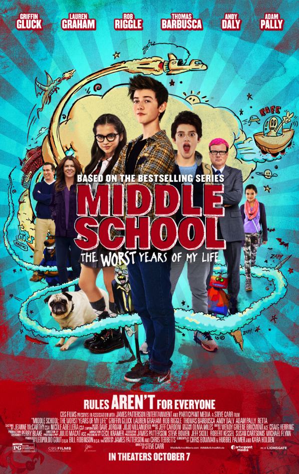 Middle School Prize Pack Giveaway ends 10/11/16