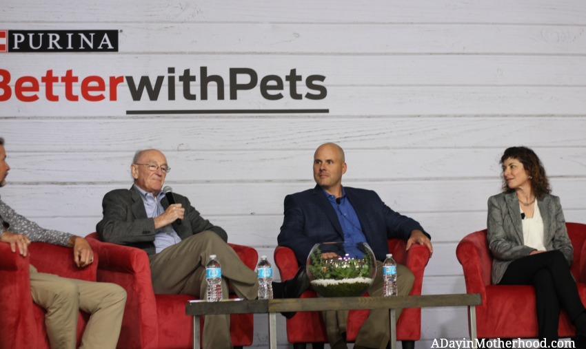 Top vets talked about how diet can resolve most medical issues with diet at the Purina Better With Pets Summit
