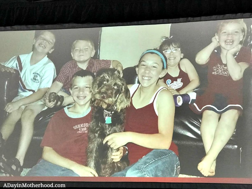 Roben Harris' story touched my heart at the Purina Better with Pets Summit