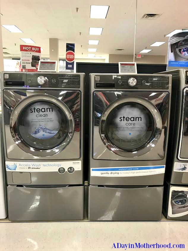 Get a Top 10 Gift for Her with a washer/ dryer pair!