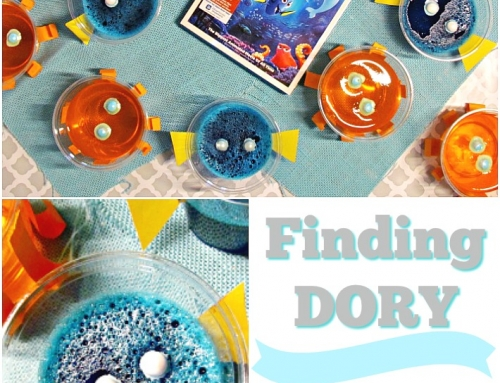 Finding Dory Jello Cups Featuring Dory and Hank